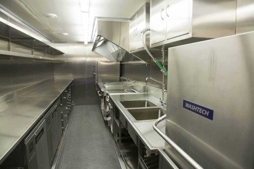 Catering Truck - Interior